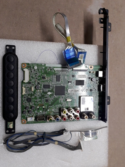 Placa Principal Da Tv Lg 32ln5400+teclado Sensor + Cabo Lvds