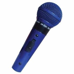 Microfone Le Son Sm58 B Unidirecional Cardioide + Cabo Nf