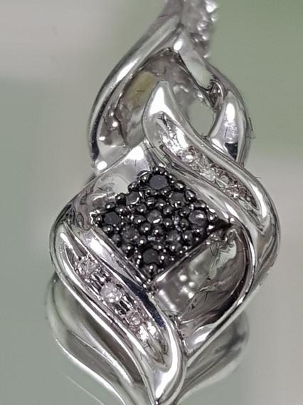 Diamantes Brancos E Negros - Medalhão Persa
