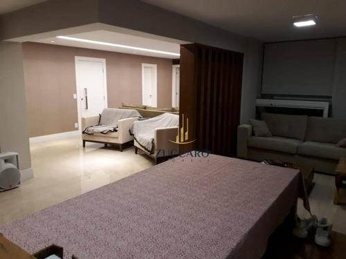 Apartamento Com 4 Dormitórios À Venda, 182 M² Por R$ 1.450.000,00 - Vila Rosália - Guarulhos/sp - Ap14508