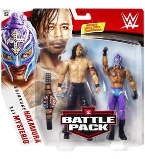 Wwe Rey Misterio Cinturon Campeon Vs Nakamura Envio Gratis