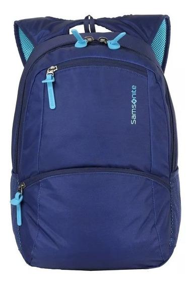 Mochila Samsonite Porta Notebook Reforzada Lyra Blue