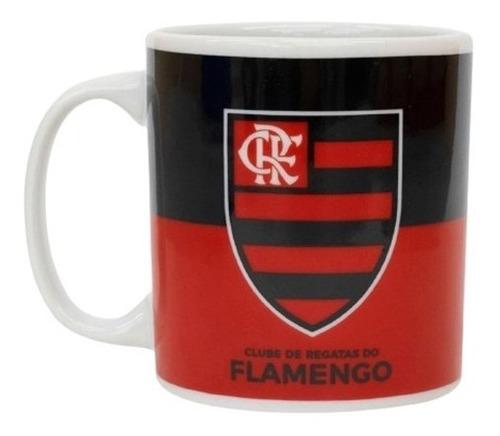 Caneca De Porcelana 320ml Flamengo