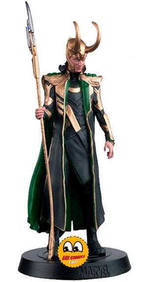 Marvel Movie Collection Fasiculo # 8 Loki Esc 1:16