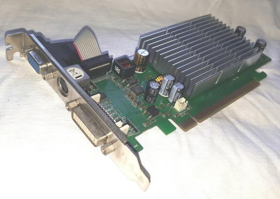 Placa De Video Pci-e 256 Mb Geforce 7200gs Dvi Vga