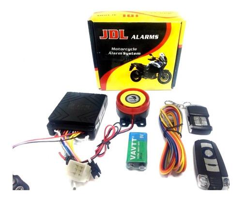 Alarma Para Moto Jdl Encendido Y Apagado Desde El Control