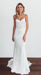6cf212df5 Vestidos De Noiva Sereia De Alcinha - Calçados, Roupas e Bolsas no ...
