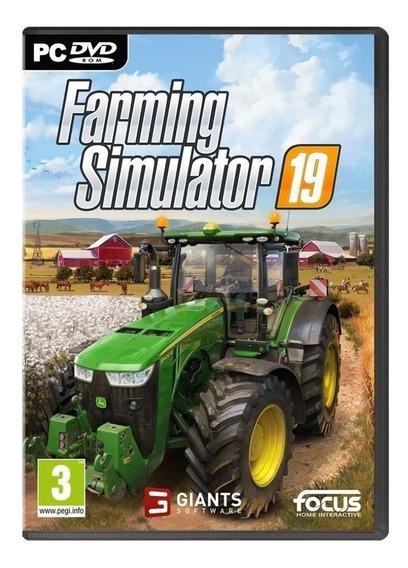 Farming Simulator 19 Pc - Envio Digital