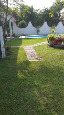 Casa Con Alberca Fin De Semana Cuautla Amplio Jardín