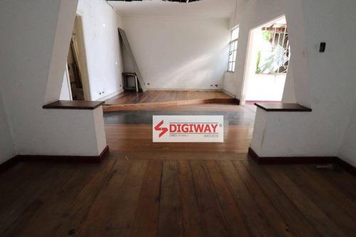 Imagem 1 de 19 de Casa Com 4 Dormitórios Para Alugar, 350 M² Por R$ 10.000,00/mês - Indianópolis - São Paulo/sp - Ca0331