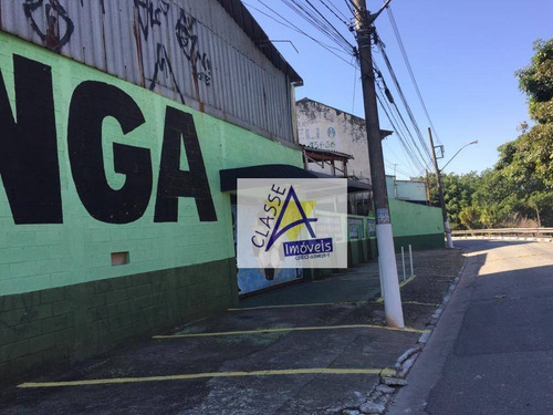 Imagem 1 de 1 de Galpao 1000 M2 2 Terrenos Quadras No Bocaina - Ga0105