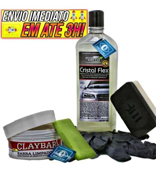 Cristal Flex Removedor De Chuva Ácida Nobre Car Clay Bar Tfp