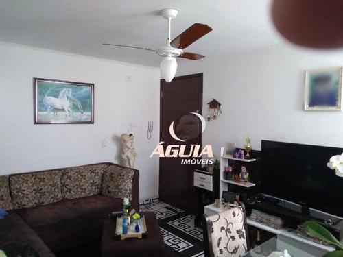 Apartamento Com 2 Dormitórios À Venda, 55 M² Por R$ 191.000,00 - Jardim Alvorada - Santo André/sp - Ap2498