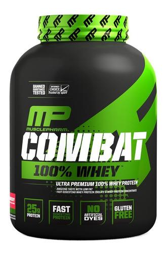 Imagen 1 de 2 de Whey Protein 5 Lb Musclepharm Combat Proteina Usa