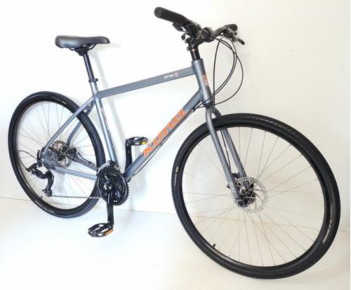 Bicicleta Kona Híbrida Cicloturismo Urbana 24v Disco Ciudad