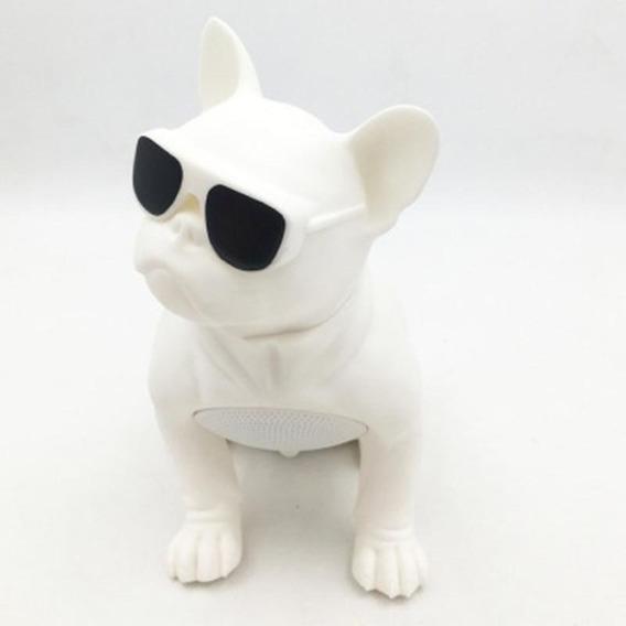 Caixa Som Bluetooth Bulldog Portátil Decoração