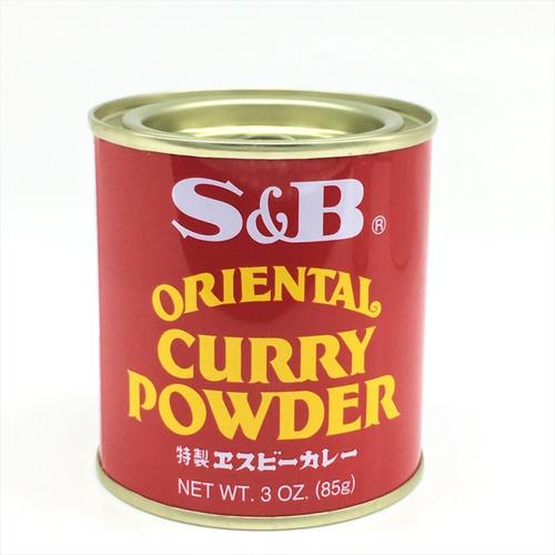 Imagen 1 de 1 de Curry En Polvo Powder Oriental S&b 85g Origen Japon!