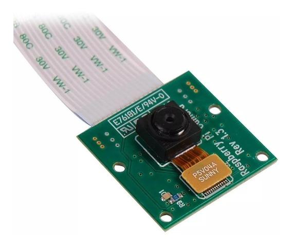 Modulo Camera P/ Raspberry Pi 5mp Cabo Flat Nao Serve Esp32