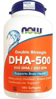 Dha Now Foods Dha500 - Epa250 Dha-500 Now Importado E U A