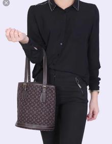 Cartera Louis Vuitton Mini Lin Bucket
