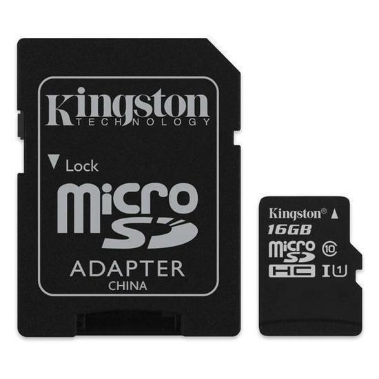 Cartão De Memória Kingston Micro Sdhc 16gb Classe 10