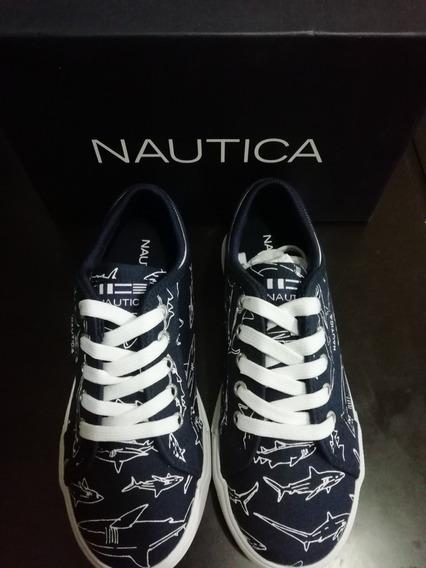 Zapatos Nautica Niño Talla 35 Originales