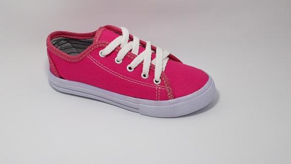 Tenis Star Infantil Feminino Baby Luck Pink Branco