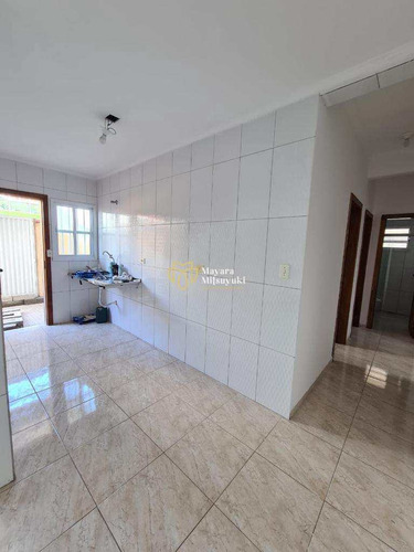 Imagem 1 de 15 de Casa De Condomínio Com 2 Dorms, Antártica, Praia Grande - R$ 190 Mil, Cod: 32 - V32