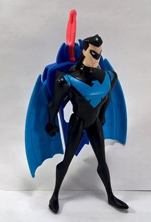 Batman Serie Animada Figura Nightwing En Gotham City Hasbro