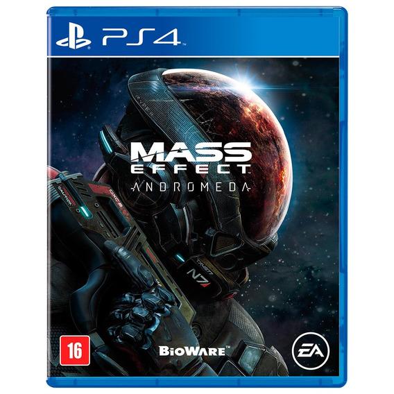 Jogo Mass Effect: Andromeda Para Playstation 4 (ps4) - Biowa
