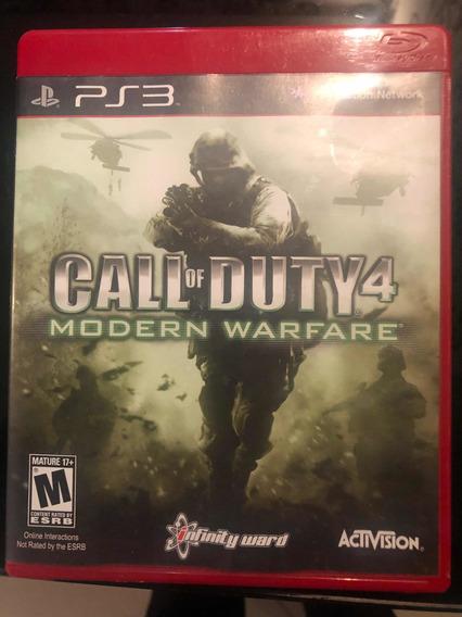 Jogo Call Of Duty 4 Ps3