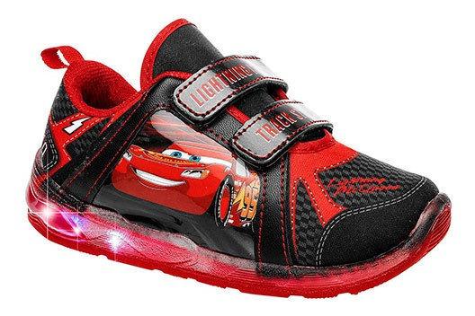 Imagina Sneaker Urbano Niño Negro Reyleon Luces N74408 Udt
