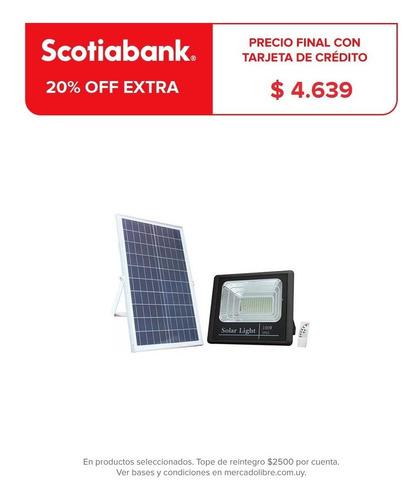 Foco Solar Led 300w C Sensor Patio Jardin Calles Exterio