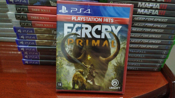 Far Cry Primal Ps4 Português Mídia Física Original Lacrado