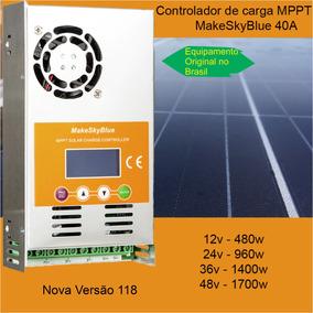 Controlador De Carga Mppt 40a Makeskyblue [v118 Original]