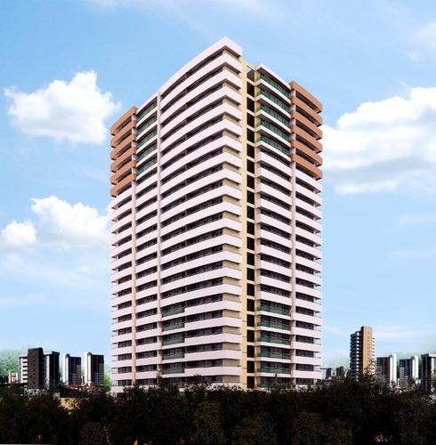 Imóvel Desocupado, Apto A Receber Visitas! Apartamento Com 3 Dormitórios À Venda, 71 M² Por R$ 634.000 - Guararapes - Fortaleza/ce - Ap1988