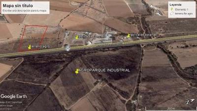 Terreno En Venta Sobre Carretera A Zacatecas Frente Al Parque Agroindustrial