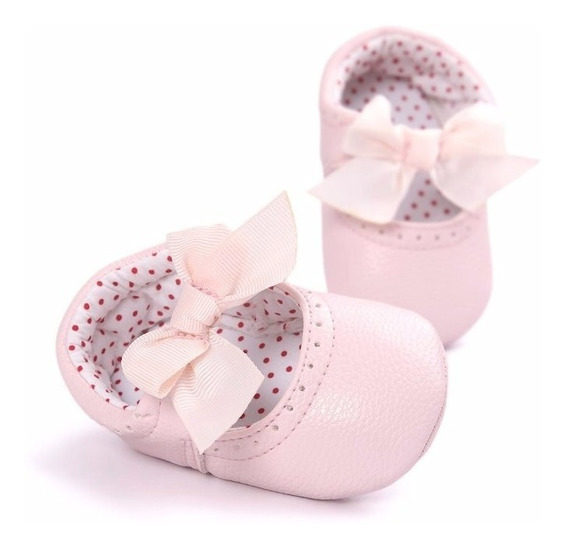 Zapatos / Mocasines Para Bebé Rosas