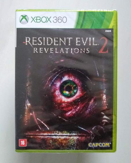 Resident Evil Revelations 2 Xbox 360 Original Novo Lacrado