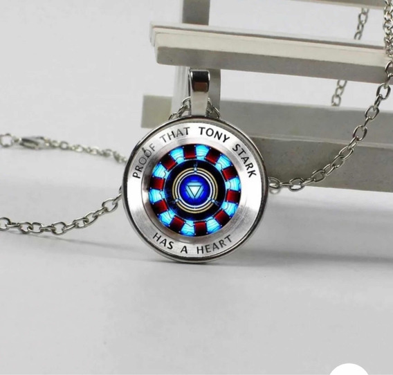 Collar Reactor Iron Man Tony Stark Avengers Endgame Full