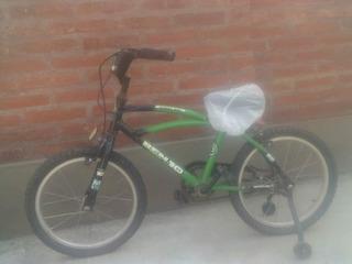Bicicleta Niño Con Rueditas. Bmx. Todo Terreno, Rodado 16