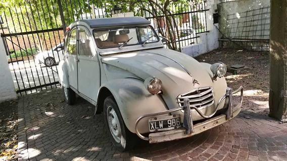 Citroën 2 Cv 1971 Nafta Excelente Estado!! 2cv Gris