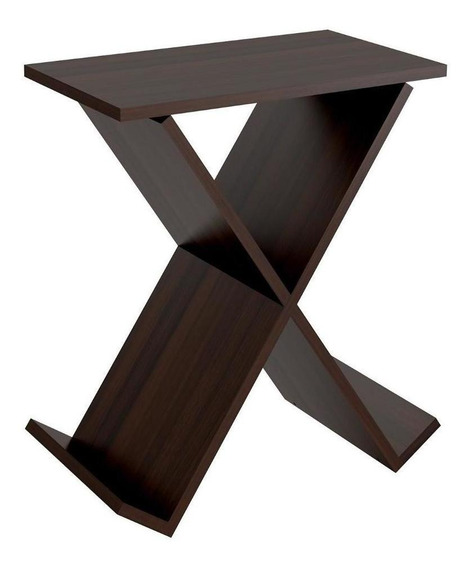Mesa Lateral Forma X Tabaco 2611.0002