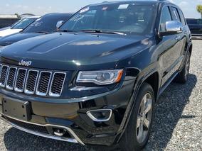Jeep Grand Cherokee Overland Verde 2014