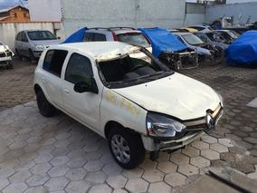 Sucata Renault Clio 1.0 16v 2016 Retirada De Peça