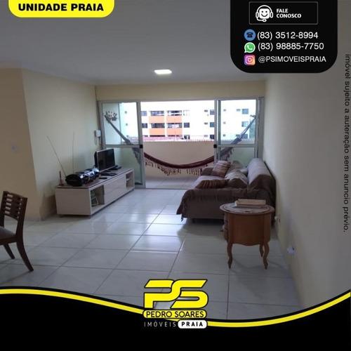 Apartamento Com 3 Dormitórios À Venda, 82 M² Por R$ 220.000 - Bancários - João Pessoa/pb - Ap4544