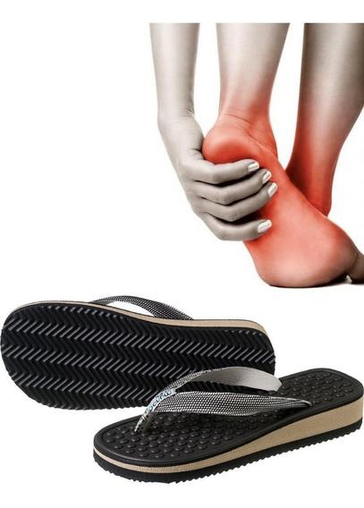 Chinelo Ortopédico P/ Esporão Massageador Anabela