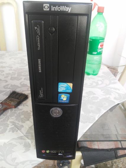 Itautec Infoway Core 2duo 3.00ghz/4gb De Ram/hd500gb/wi-fi