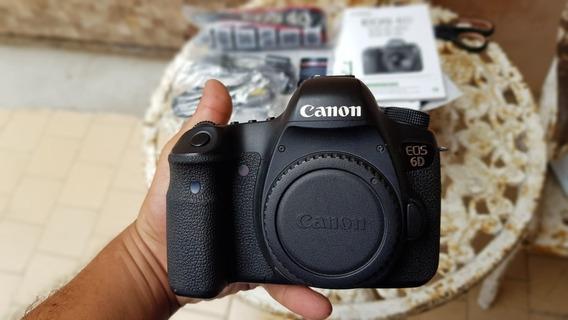 Canon 6d Completa Super Conservada, Nunca Usada Em Vídeo