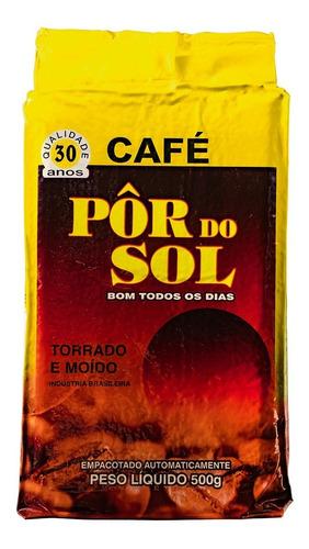Imagem 1 de 1 de Café Pôr Do Sol Torrado E Moído Vácuo 500gr